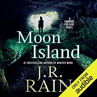 Moon Island audiobook cover art