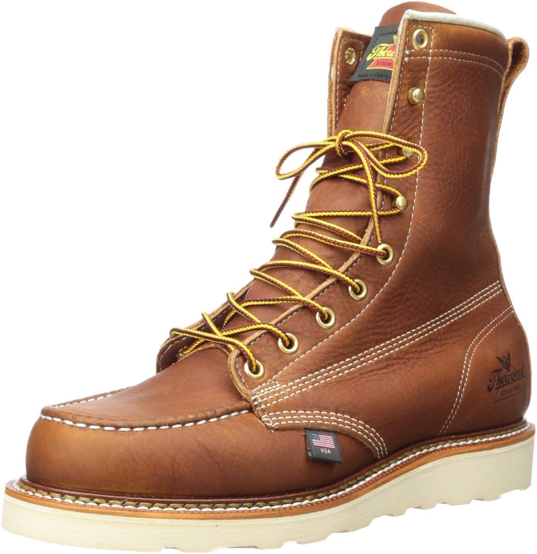 12e0e1a72cf Men's Heritage 8 Moc Toe, MAXwear Wedge Non-Safety Toe Boot American ...