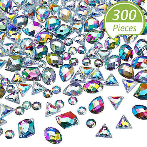 Acrylic Jewel 500g Assorted Colors /& Size Plastic approx 800 CT2270
