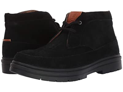 Stacy Adams Amherst Moc Toe Chukka Boot (Black Suede) Men