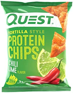 Quest Nutrition Protein Chips - Tortilla Style - 30 Count (Chili Lime)