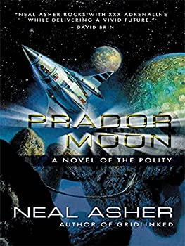 Prador Moon by Neal Asher science fiction and fantasy book and audiobook reviews