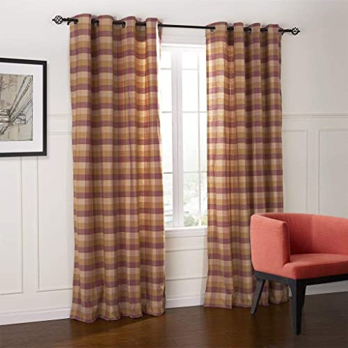 Country Style Curtains For Living Room Amazon Com