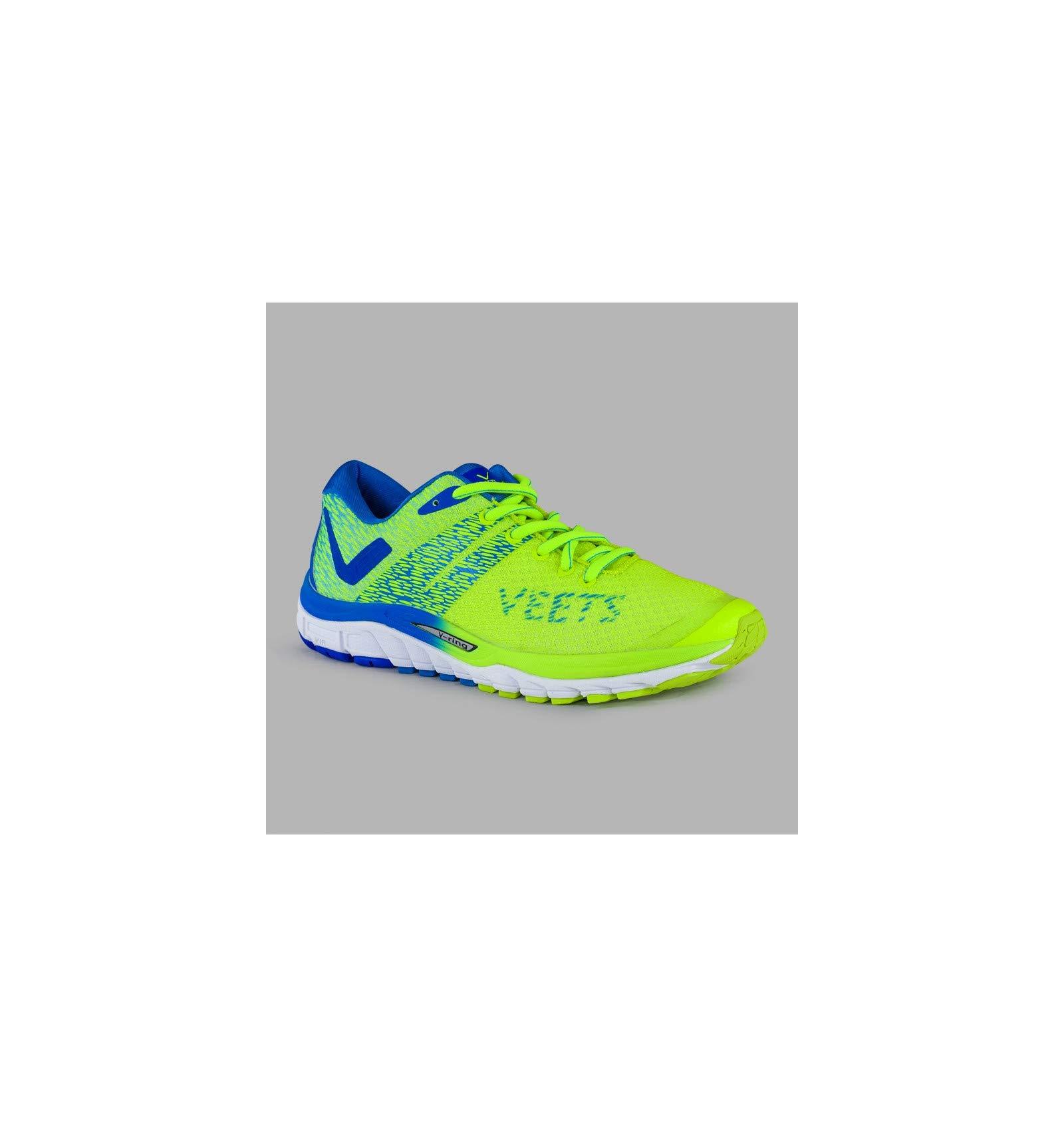 VEETS Inside 2.0 - Zapatillas de Running para Hombre, Color Amarillo, Azul y Blanco, PE 2018, Amarillo, 41: Amazon.es: Deportes y aire libre
