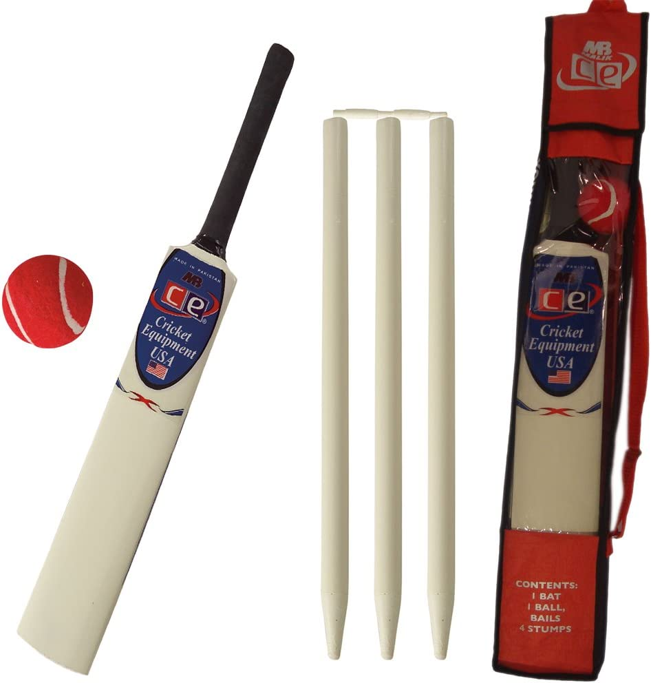 CE Ranking integrated 1st place Kids Cricket Gift Set American Wooden Includes Young Sale special price