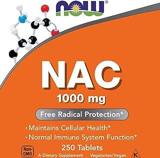 Now NAC 1000 mg, 250 Tablets