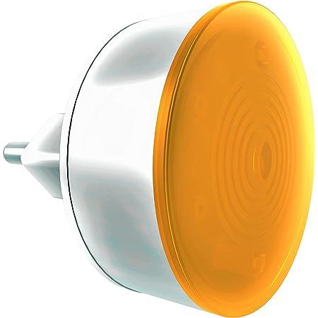 GM 3031 0.5 Watt Xoom LED Night Lamp, Orange and White,Pack of 1