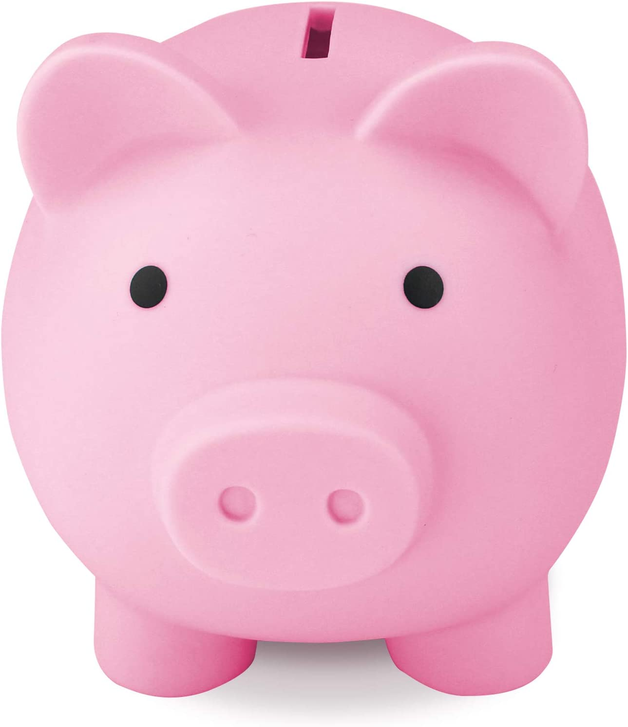 Sikaye Cute Piggy Bank Blue Best Gift for Kids Children Coin Bank Plastic Pig Money Bank Save for Coins Great Gift for Boys /& Girls