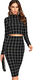 Best bodycon skirt and crop top Reviews
