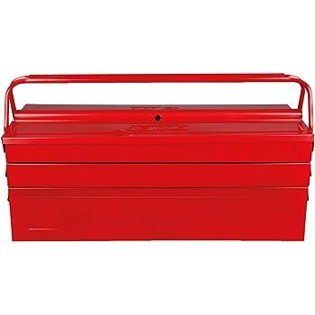 KS Tools 999.0125 - Caja de herramientas (metálica, 5 compartimentos, 530 x 210 x 200 mm): Amazon.es: Bricolaje y herramientas