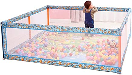 LNDDP Playpens Play Yard Indoor  Lightweight Activity Centre Playyard  Kids Infant Security Game Fence  Durable Anti-collision