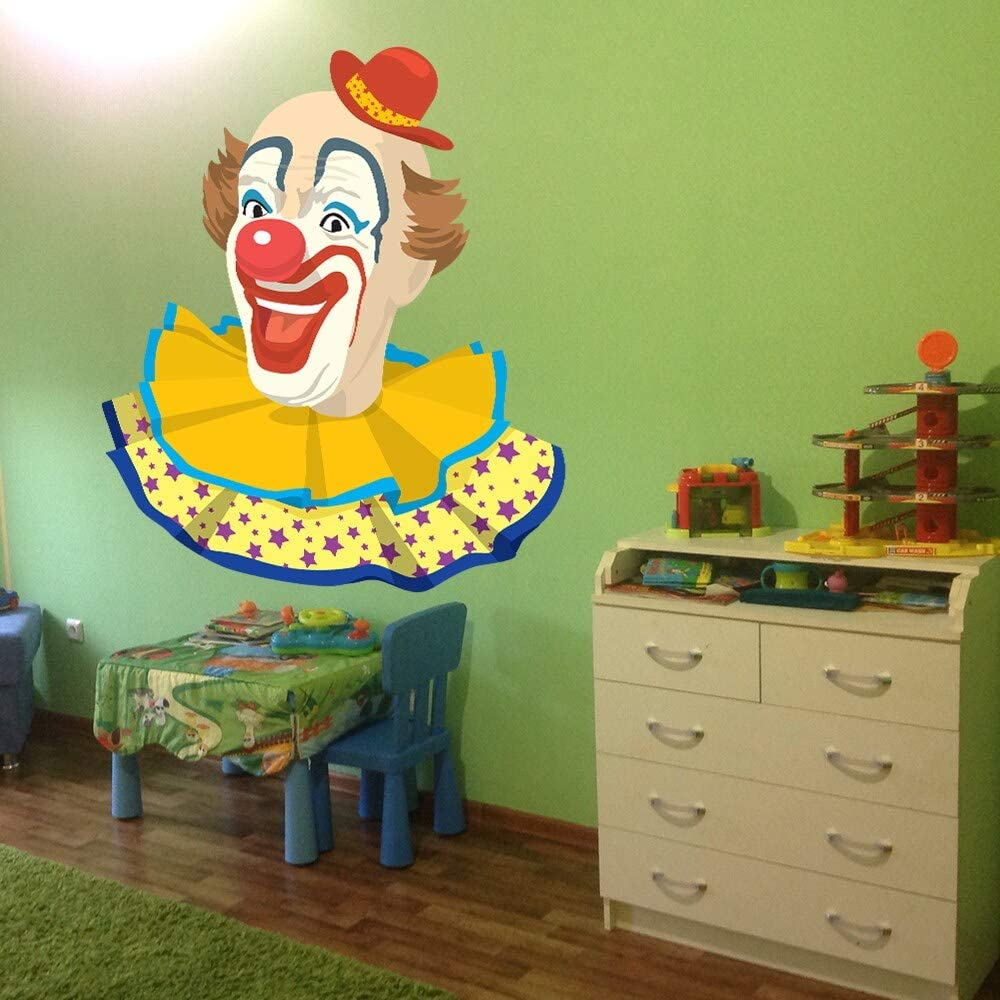 Full Color Excellence Clown Party Happy Children Sticker Si Wall Decal Room Max 87% OFF