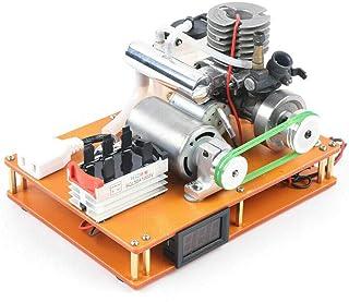 Generador de corriente de gasolina de 2 tiempos, máquina de metanol, motor de 15 grados de metanol, motor de generación de corriente eléctrica de 100 – 500 V para coche RC barco avión