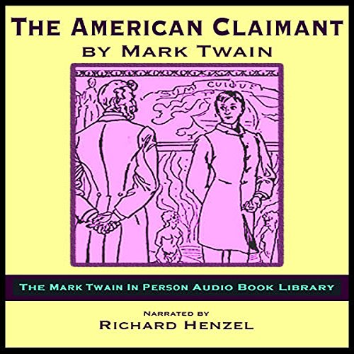 The American Claimant audiobook cover art