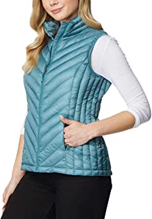 32 DEGREES Heat Womens Packable Vest (M, Cold Green)