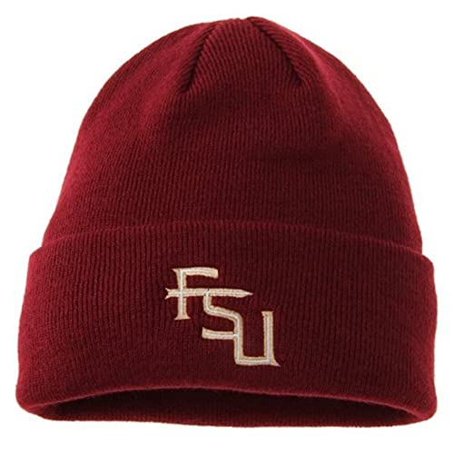 Top of the World Florida State Seminoles Official NCAA Knit Cuffed Beanie  Stocking Hat Cap 423111 972337aaacf