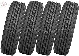 JK Tyre JETWAY JUL2+ Steer Trailer Truck Tires 11R22.5 16PLY (Set of 4)