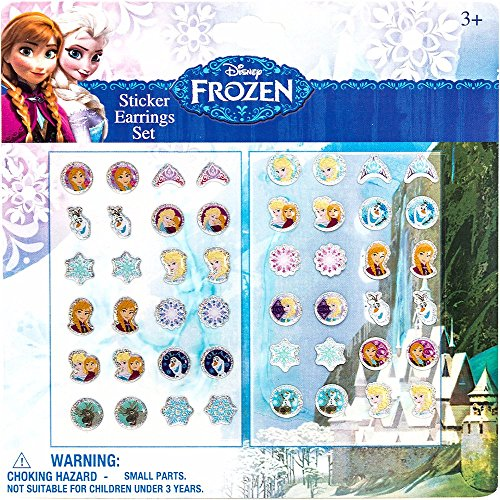 Toy Joy - Frozen Orecchini Sticker 24 Paia