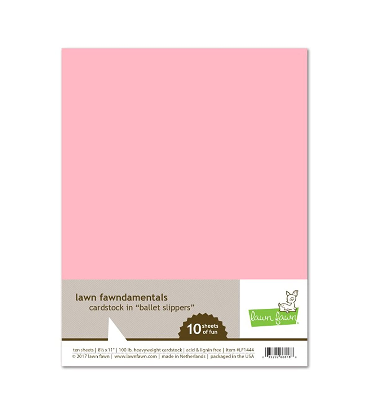 Lawn Fawn LF1444 Ballet slippers cardstock