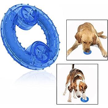 Cisixin Hunde Kauspielzeug Kuhlender Kauknochen Fur Amazon De Elektronik