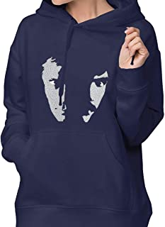 Womens Fashion Running Sweater with Pockets Printed with Hall & Oates
