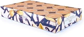 Pajoma 9104430pièces de Bougies Chauffe-Plats parfumées Vanille Ligne Moderne, durée de Combustion: env. 14Heures, Hau...