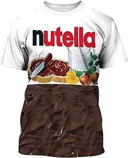 Pandolah ボーイズ ユニセックス Tシャツ 3Dプリント スリム アニマル ネタシャツ ファション 半袖