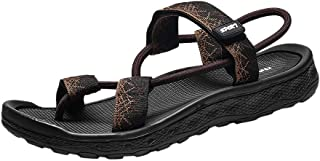 Zapatos Casual para Hombre LANSKIRT Calzado Hombres Verano Sandalias de Playa con Plataforma Antideslizante Zapatillas de ...