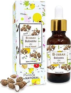 B-URBAN Babassu Oil 100% Natural Pure Undiluted Uncut Carrier Oil 50ml