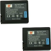 DSTE Repuesto Batería para Sony NP-FF50 DCR-HC1000 DCR-HC1000E DCR-IP1 DCR-IP1E DCR-IP1K DCR-IP200K DCR-IP210E DCR-IP220 DCR-IP220E DCR-IP220K DCR-IP45E DCR-IP5 DCR-IP55 DCR-IP55E DCR-IP5E DCR-IP7