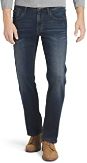 IZOD Men's Comfort Stretch Straight Fit Jean