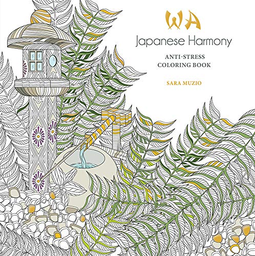 Japanese Harmony Coloring Book: Anti-Stress Coloring Book