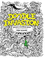 Doodle Invasion Adult Coloring Book: Zifflin's Coloring Book