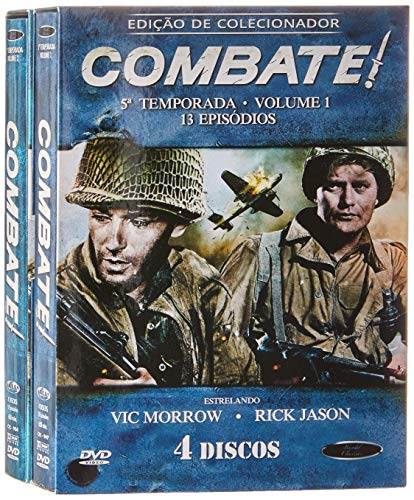 Combate 5ª Temporada Completa Digibook's 8 Discos