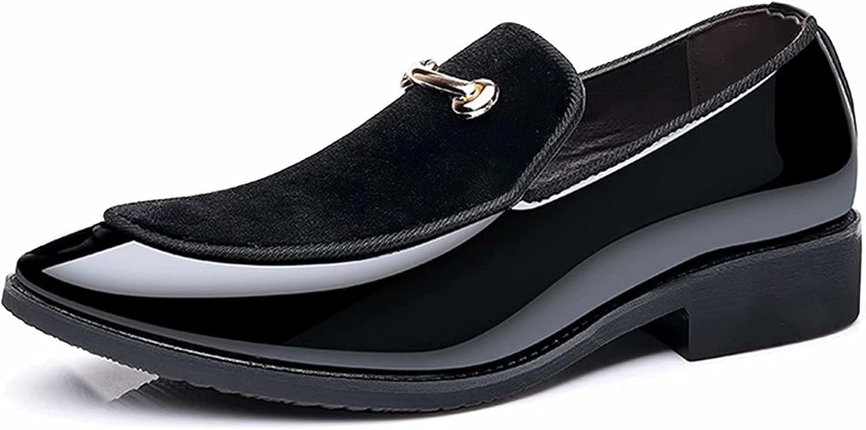 FeiZhi Men's Dress Shoes Leather Business Easy Wear Oxford Formal Men Shoes Classic Formal Derby Shoes