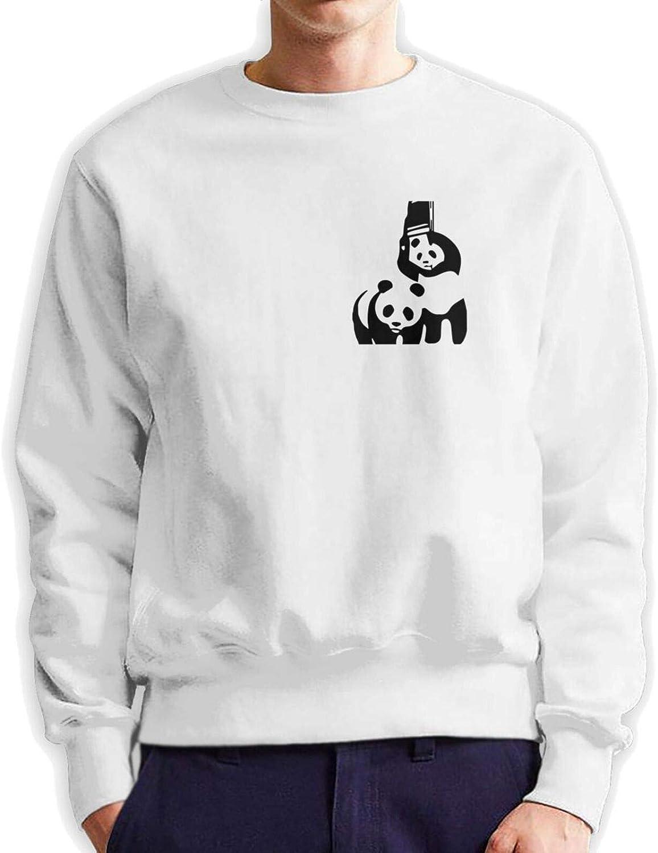 Wwf Panda Bear Wrestling Mans Limited time cheap sale Cotton Crew Hoodie Authentic Dedication Neck