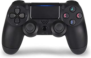 PS4 Wireless Controller Remote for Sony Playstation 4 Joystick with Charging Cable,Jet Black,New Model