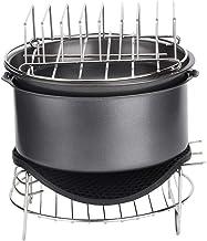 Tarente 7pcs / Set Barbecue Air Fryer Accessoires Set Kit Pièces Cuisine Accueil Outil for 3.6L
