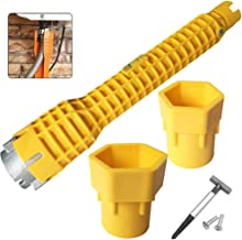 Multifunctional Plumbing Tools Basin Wrench(8in1) Pipe Spanner for Toilet Bowl/Sink/Bathroom/Kitchen Plumbing