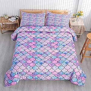 61cbHjStUtL._SS300_ Mermaid Bedding Sets & Comforter Sets