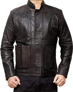 LeatherJacket4 Han Solo Force Awaken Star Wars Replica Movie Men's Leather Jacket