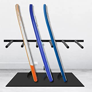 """VEVOR Vertical Surfboard Rack, 6 Rods Paddle Board Storage Rack, 45"""" Paddle Board Storage, 10 Protective Cases Paddle Boar..."""