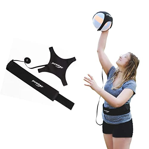 Puredrop Volleyball Training Equipment Aid Great Trainer For Solo Practice Of Serving Tosses And Arm