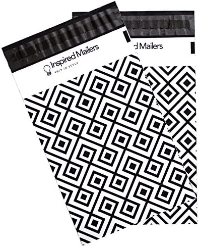 Inspired Mailers - Large-scale sale Limited price sale Poly 6x9-100 Pack Print Geometric
