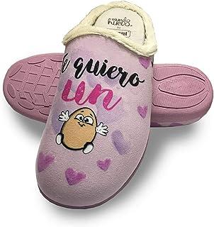 a7b08ef3 Amazon.es: 41 - Zapatillas de estar por casa / Zapatos para mujer ...