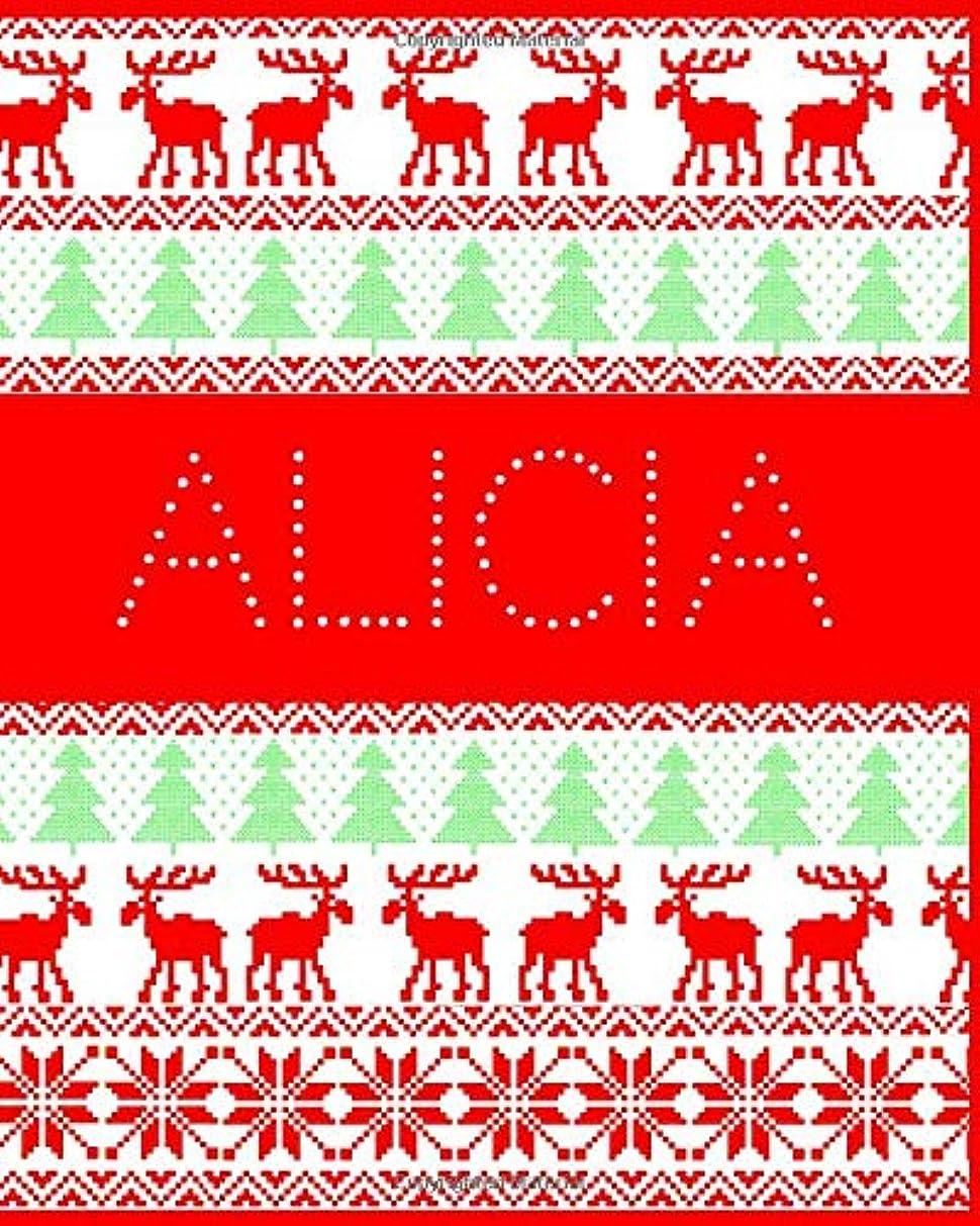 感謝しているプレミア戦うAlicia: Funny ugly Christmas jumper themed journal for your family and friends. Perfect Christmas gift for those who have everything!