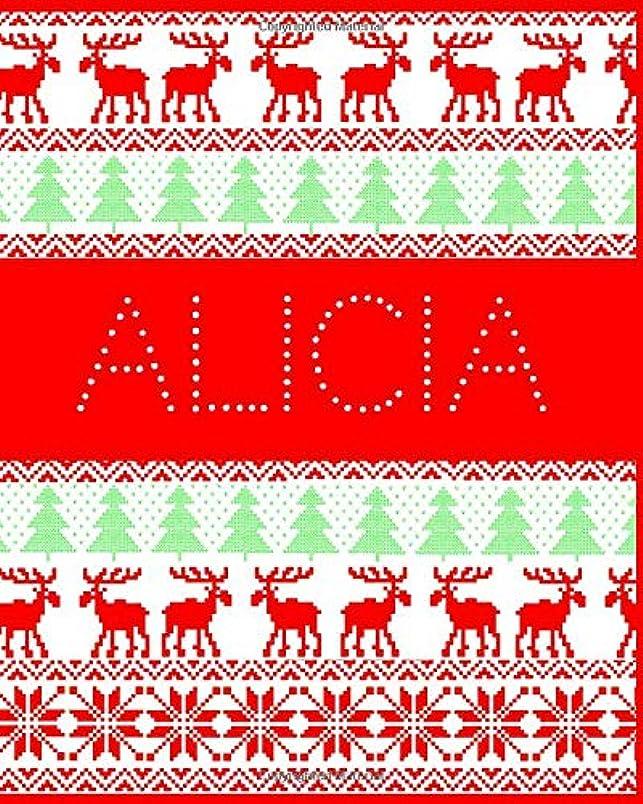 大きなスケールで見るとメーター笑Alicia: Funny ugly Christmas jumper themed journal for your family and friends. Perfect Christmas gift for those who have everything!