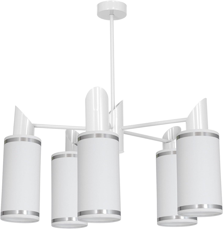 Comari 5 Deckenleuchte Deckenlampe Hngeleuchte Hngelampe Pendelleuchte Wei