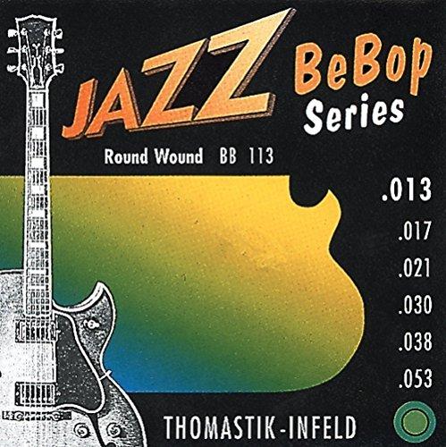 Thomastik Einzelsaite E .053 Nickel, roundwound BB53 für E-Gitarre Jazz Bebop Satz BB113