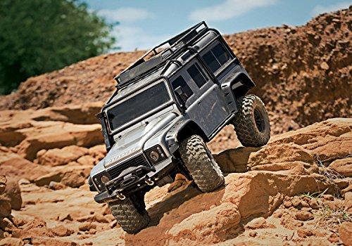 RC Auto kaufen Crawler Bild 6: Traxxas Landrover Defender Brushed RC Modellauto Elektro Crawler Allradantrieb (4WD) RTR 2,4 GHz*